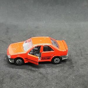 Majorette 200 Series (Serie) #218 Peugeot 405 MI 16 Vintage Die-Cast Vehicle 80s