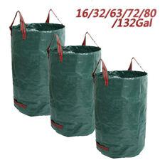 16-132Gal Garden Bag Reusable Lawn Leaf Bags Heavy Duty Garden Waste Bags