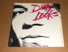 Dirty Looks Cool from the Wire Poster 2-Sided Flat Square 1988 Promo 12x12 RARE