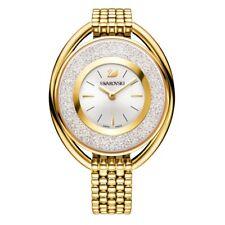 Swarovski Crystalline Oval Gold Tone Bracelet Ladies Watch 5200339