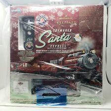 2015 Hallmark Keepsake Toymaker Santa Express Lionel Train Set