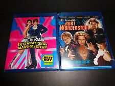 AUSTIN POWERS INTERNATIONAL MAN OF MYSTERY& INCREDIBLE BURT WONDERSTONE-2 movies