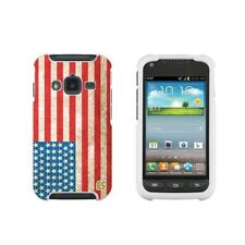 For Samsung Galaxy Rugby Pro i547 Protector Case Cover American USA Flag