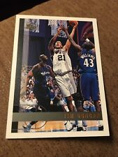 RARE GEM MINT Tim Duncan Rookie 1997/98 Topps #115 See Photos