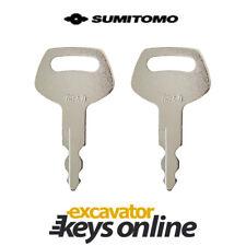 Sumitomo & Case S450 Excavator Key ( Set of 2) Excavator Grader