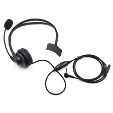 2.5mm Headset Headphone Mic for Motorola MD207R MD200TPR MD200 R MT352 R MS355R