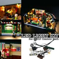 LED Light up  Kit for Lego 21319 Friends Central Perk Building Blocks Bricks DIY