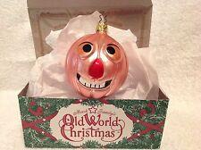 Halloween,Jolly Mr. Pumpkin Head,Old World Christmas,Inge-Glas,Germa ny,Retired