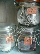 kilner mason jar plant label x 3-personalised-unique tag gift-copper aluminum