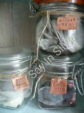 kilner mason jar label x 3-personalised-unique personalised gift-copper aluminum