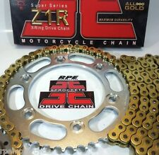 '98-05 HONDA VTR1000F JT GOLD  Z1R X-RING CHAIN AND SPROCKETS KIT *OEM , QA, Fwy