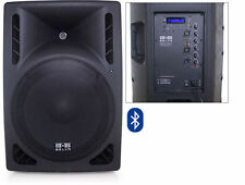"BELVA BDRS-15BLU 15"" Active Pro/DJ Speaker with Integrated Bluetooth USB/SD/MP3"