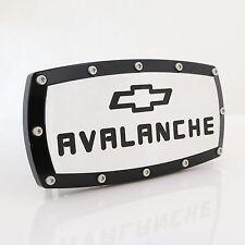 Chevrolet Avalanche Black Trim Chrome Billet w/ Allen Bolts Tow Hitch Cover