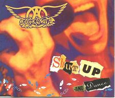 AEROSMITH Shut up and Dance w/RARE Versions Crazy / Line Up CD single USA Seller