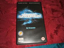 VHS VIDEO TAPE..........FRANKENSTEIN....BE WARNED.................free postage..