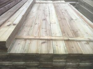 1.8m Paling Fencing Boards 100x19mm - tanalised - £1.55