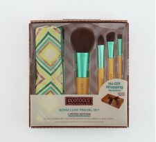 EcoTools Boho Luxe Travel set Limited Edition Make up Brushes New