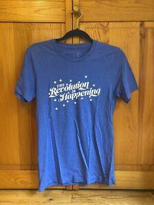 Hamilton Broadway musical Revolution T-shirt size small