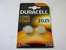 10x CR2025 Blister Lithium Knopfzelle Duracell AR2774