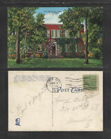 1941 OLD KENTUCKY HOME BARDSTOWN KENTUCKY POSTCARD