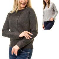 Vero Moda Damen Strickpullover Sweater O-Neck Pullover mit Raglan-Ärmel SALE %