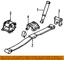 GM OEM Rear Suspension-Spring 10395531