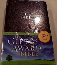 NIV Gift and Award Bible by Zondervan Staff (2011, Leather, Special)