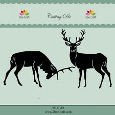 Dixi Crafts Cutting Die REINDEERS MD0119 2pcs