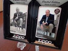 ZIPPO A SERIES IN TIME 2 ZIPPO SET GG BLAISDELL & GEORGE DUKE ZIPPO #04336