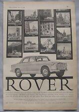 1961 Rover Original advert No.3