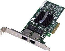 HP NC360T Dualport Gigabit Netzwerkkarte PCI Express x4 1000 Mbps/1 Gbps
