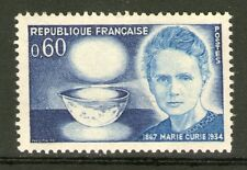 TIMBRE 1533 NEUF XX LUXE - MARIE SKLODOWSKA-CURIE ( 1867-1934 )