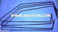 #Autobianchi# A112 Abarth # Dichtungen Rahmen Bodenschaber Glas Schwarze