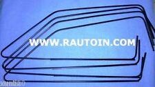 AUTOBIANCHI A112 Abarth GUARNIZIONI CORNICI RASCHIA VETRI NERI GLASS TRIMS BLACK