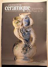 REVUE DE LA CERAMIQUE ET DU VERRE/N°157/2007/CHAGALL/CARBONELL/CRESTOU