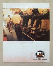 C270-Advertising Pubblicità-1998- ATL WORKING THE TOUGH