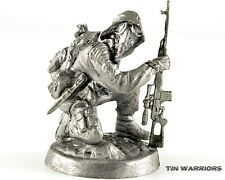 Stalker. Chernobyl. Tin toy soldier. 54mm miniature figurine. metal sculpture