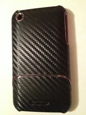 New Griffin Graphite Carbon Fiber Pattern case For IPhone 3G 3GS  w/ Screen Prot