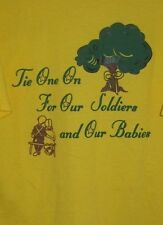 Mens Daffins Candy T Shirt March of Dimes For Our Soldiers & Babies Large 2003
