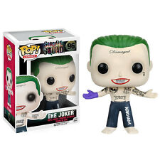 DC COMICS SUICIDE SQUAD POP! FIGURA DE VINILO - The Joker (Shirtless) NUEVO
