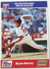 1992 Bryan Harvey Diet Pepsi Collector's Series Card # 9 of 30