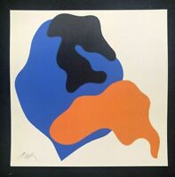 Jean (Hans) Arp - Composition I, litografia, 30x30 cm, Museo Bellas Artes, 1963