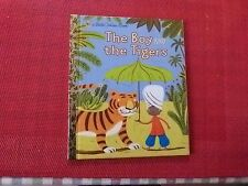 LITTLE GOLDEN BOOK - THE BOY AND THE TIGERS
