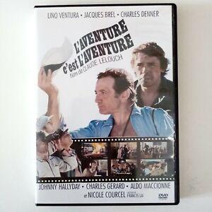 Dvd Film L'aventure C'est L'aventure Avec Lino Ventura