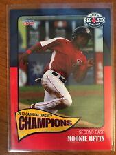 Mookie Betts 2013 Choice Marketing Salem Red Sox Rookie Card  ##16