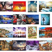 FA- DIY Paint By Number Kit Digital Oil Painting Art Scenery Wall Home Decor Nov