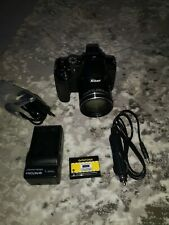 Nikon Coolpix P600 Digitalkamera schwarz