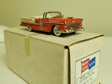 MOTOR CITY - MC-6 P 1955 CHEVROLET PACE CAR - 1/43 - GYPSY RED
