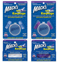 S Tir Earplugs-Macks Shooters Covert Ops Douce mousse Bouchons d/'oreille 7 paires Mack