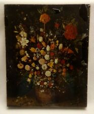 Vintage Flowers In A Tub by Jan Brueghel Puzzle - New Sealed - 1970 Springbok